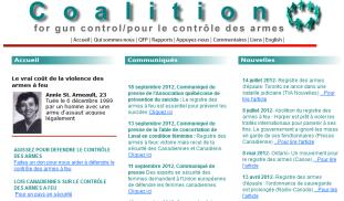 Coalition pour le contrôle des armes à feu