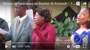 Chant funérailles de Bastien