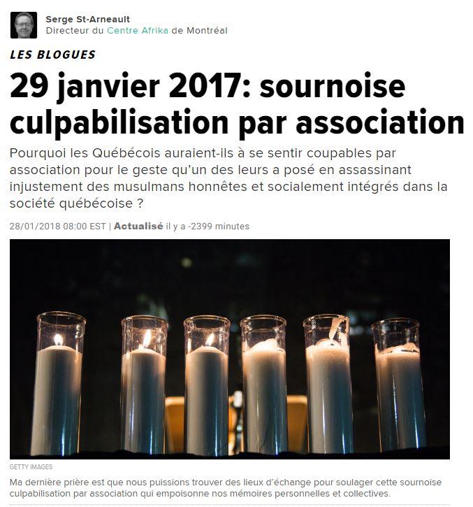 Huffpost 26 janvier 2018