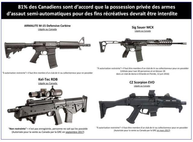 armes d'assaut