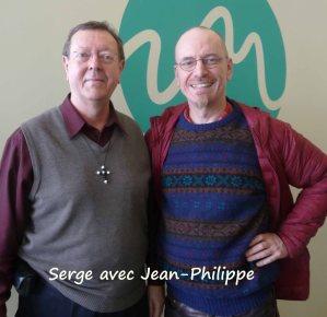 Serge avec Jean-Philippe