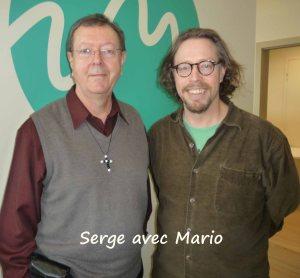Serge avec Mario