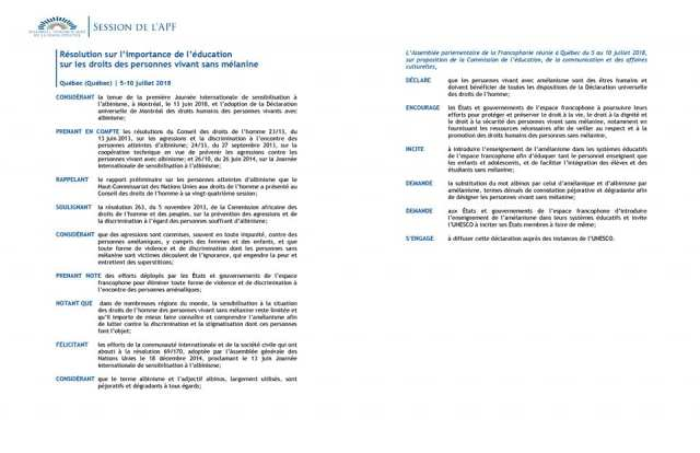 44e Session de l'AFP 00