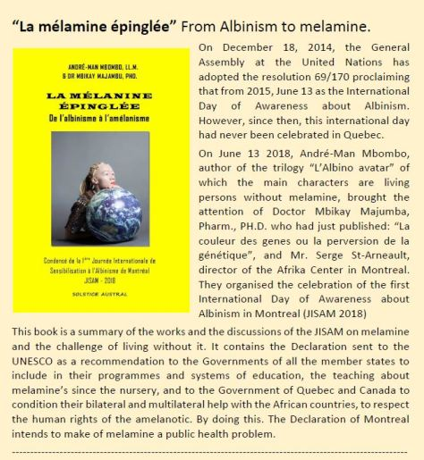 From Albinism to melamine