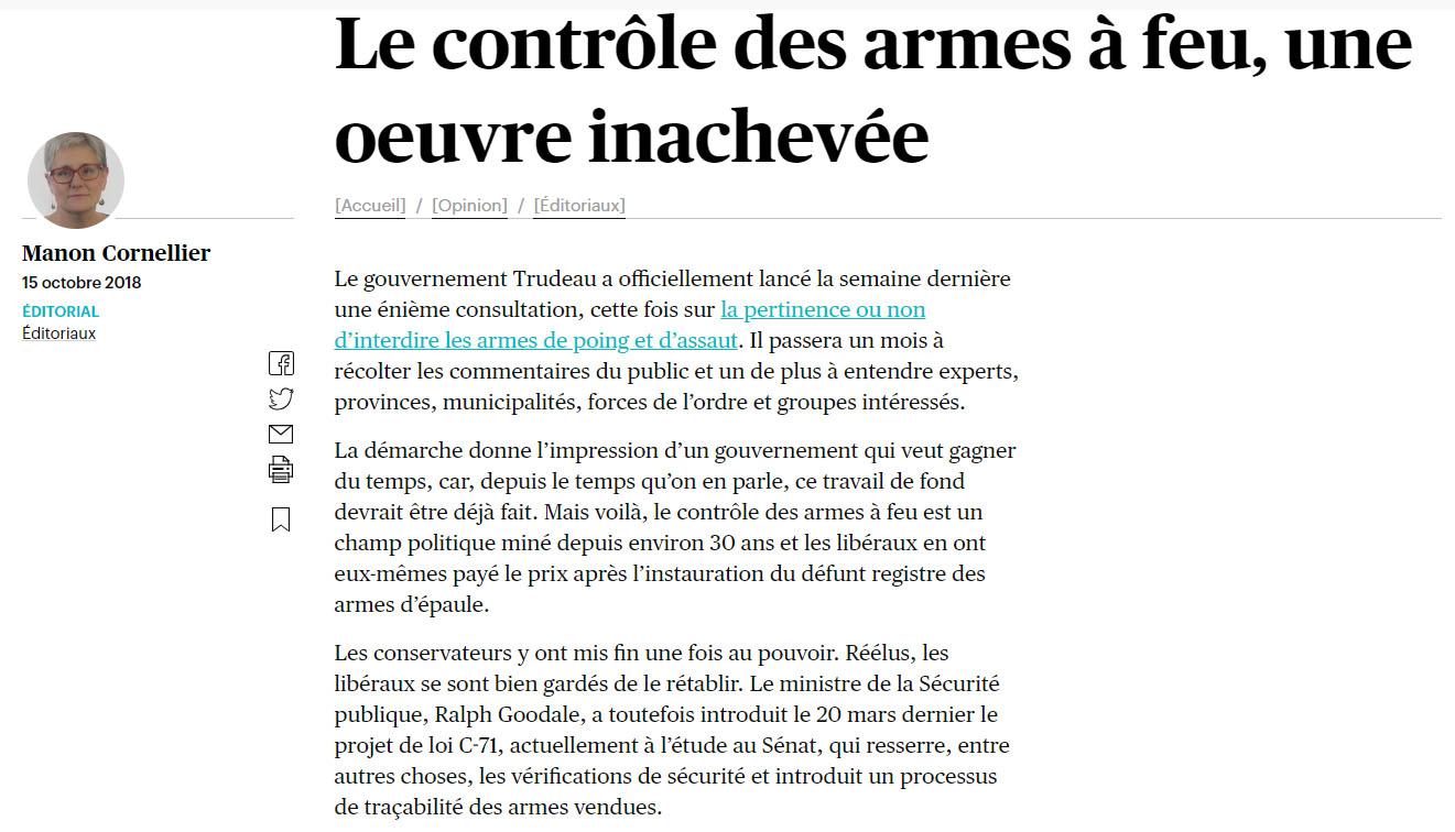 Contrôle-arme-feu-Le-Devoir