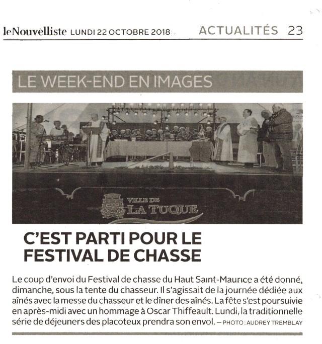 Festival chasse 2018 La Tuque 01