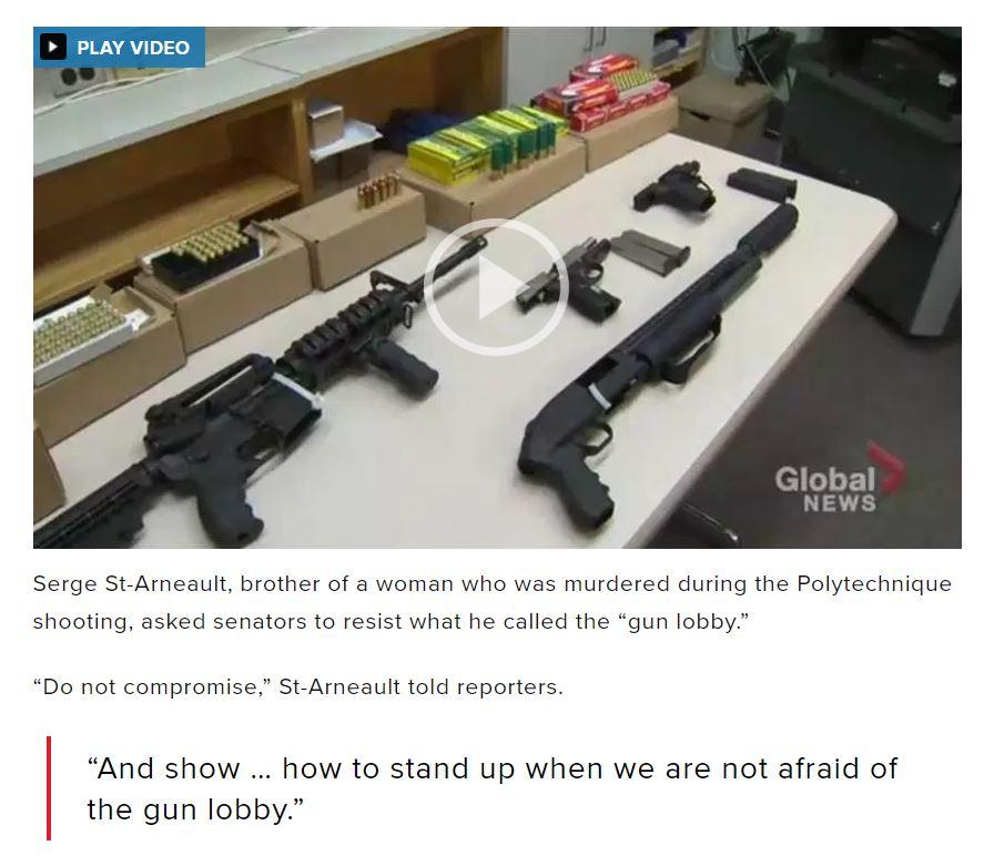 Gun control 'do not compromise'